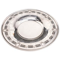 Whiting Co. Neoclassical Sterling Silver Charger