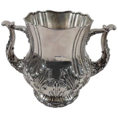 Whiting Large and Heavy Sterling Silver Classical Trophy Cup