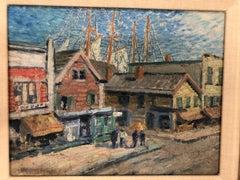 Whitney Myron Hubbard Main Street Greenport L.I. New York