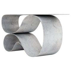 Whorl Console, from the Concrete Canvas Collection by Neal Aronowitz