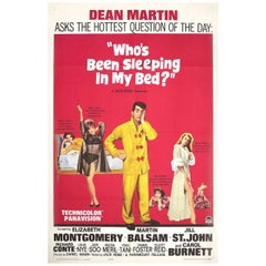 Who's Been Sleeping in My Bed? 1963 U.S. One Sheet Film Poster