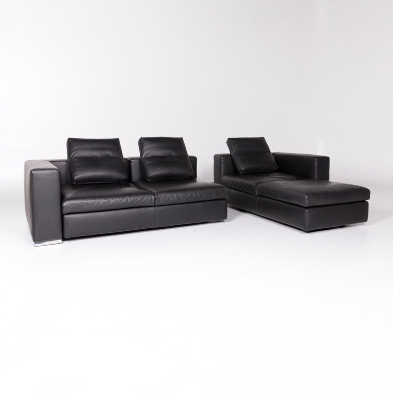 Awe Inspiring Whos Perfect Leather Corner Sofa Black Sofa Function Couch Cjindustries Chair Design For Home Cjindustriesco