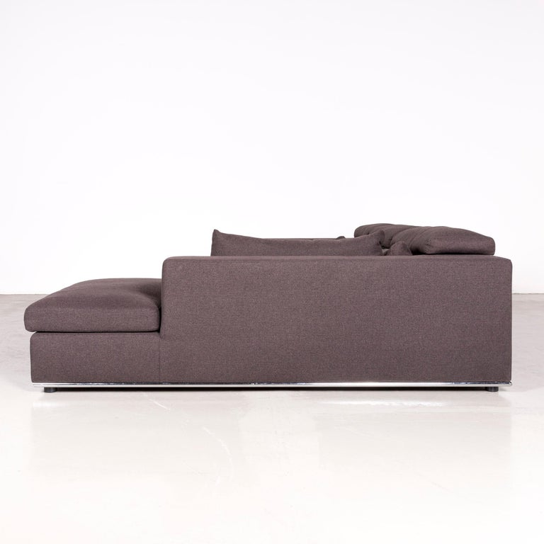who 39 s perfect toronto designer fabric corner sofa anthracite couch for sale at 1stdibs. Black Bedroom Furniture Sets. Home Design Ideas