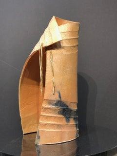 Tupuna, ceramic series, ancestor's cloak, contemporary sculpture, Maori