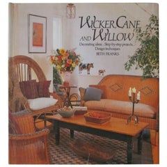 Wicker, Cane and Willow by Beth Franks Vintage Book
