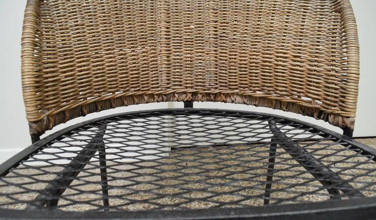 Wicker Chair by Maurizio Tempestini for Salterini For Sale 2