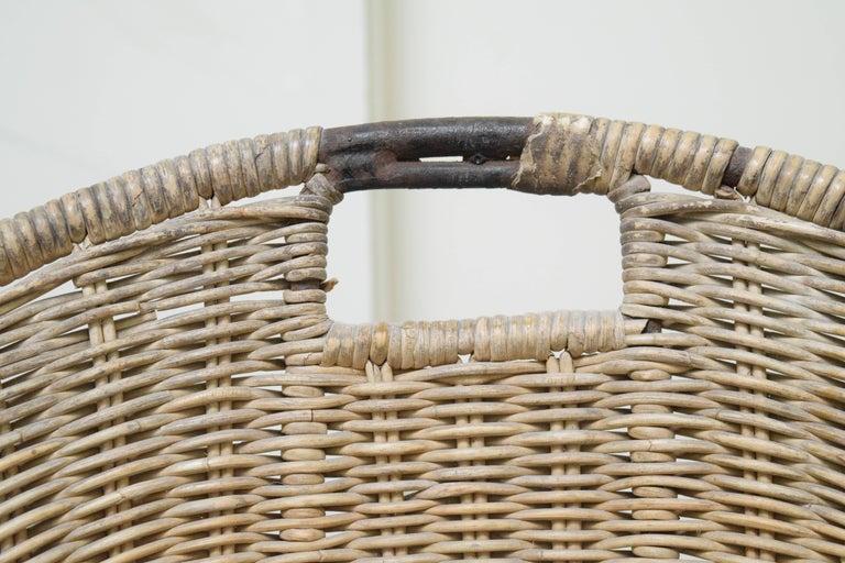 Wicker Chair by Maurizio Tempestini for Salterini For Sale 3