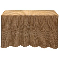 Wicker Console Table India Mahdavi