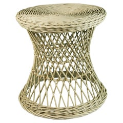 Wicker Plant Stand /Side Table
