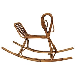 Wicker Rocking Horse, 1950s