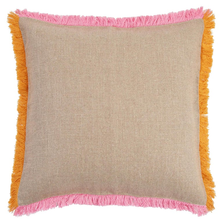 Widcombe, Hand Embroidered Cushion by Jupe by Jackie For Sale