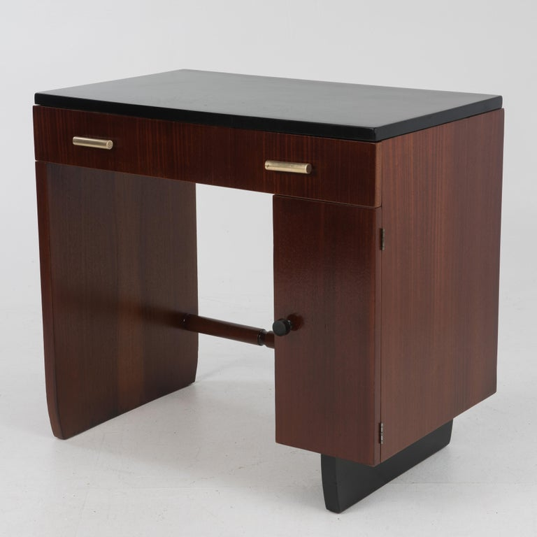 Widdicomb Dressing Table Desk Art Deco, 1930s For Sale 5