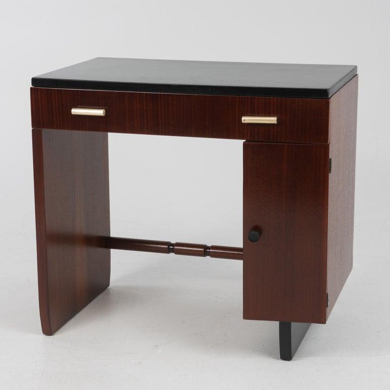 Widdicomb Dressing Table Desk Art Deco, 1930s For Sale 6