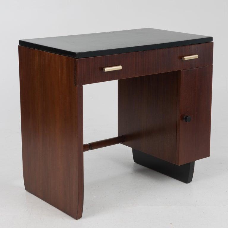 American Widdicomb Dressing Table Desk Art Deco, 1930s For Sale