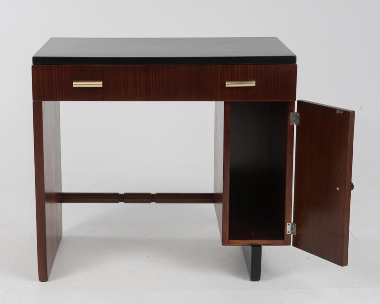 Mid-20th Century Widdicomb Dressing Table Desk Art Deco, 1930s For Sale