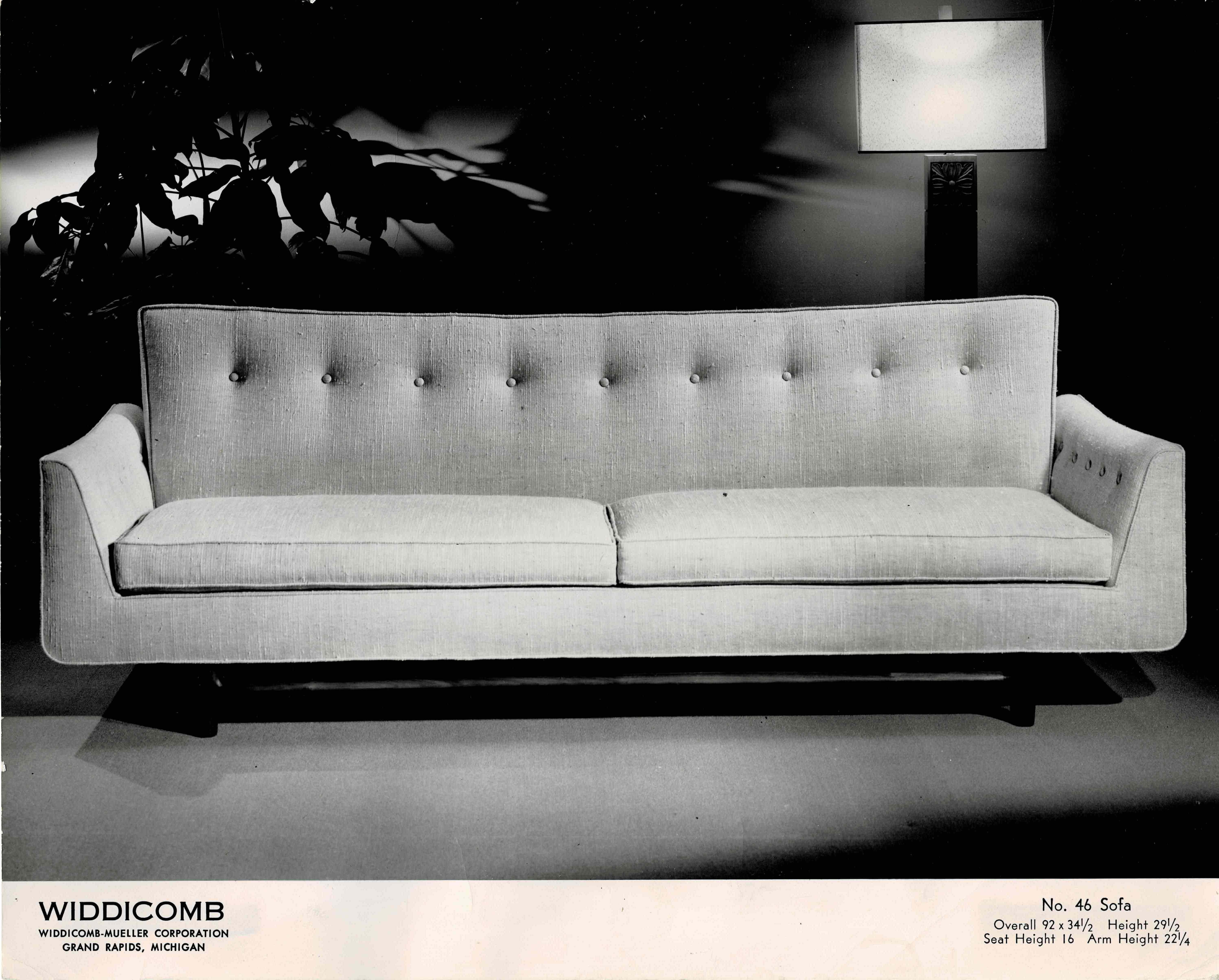 Marvelous Widdicomb Gondola Sofa Gmtry Best Dining Table And Chair Ideas Images Gmtryco