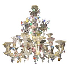Pauly Wide Rezzonico Eclectic Chandelier 24 Arms, Unique Elements Combination