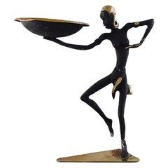 """Wiener Bronze, Rare Art Deco """"Josephine Baker"""" Figure, 1930s"""