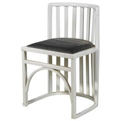 Wiener Werkstaette Attributed Early Viennese Josef Hoffmann Chair 1905, Original