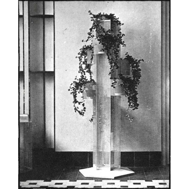 Austrian Wiener Werkstaette Koloman Moser Flower Stand, Re-Edition For Sale