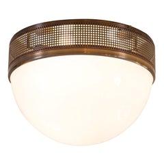 Wiener Werkstaette Pattern WW3D/50 Flush Mount, Ceiling Lamp