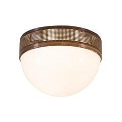Wiener Werkstaette pattern WW3D/50 Flush Mount - Ceiling Lamp
