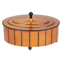 Wiener Werkstatte Austrian Dressing Table Box by Josef Hoffmann