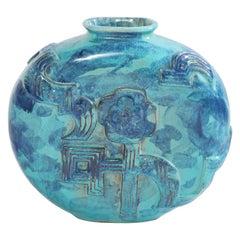 Wiener Werkstätte Circular Vase by Karoline Jacobsen