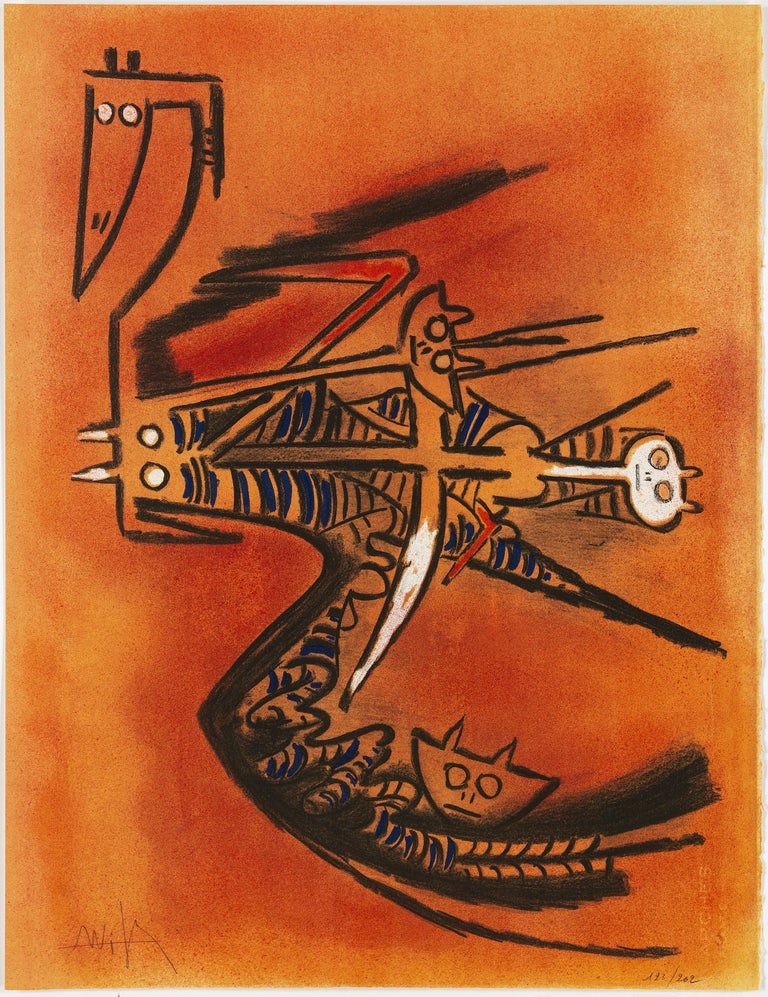 Wifredo Lam, Portfolio of 10 Signed Color Lithographs, Edition 123 of 262 For Sale 4