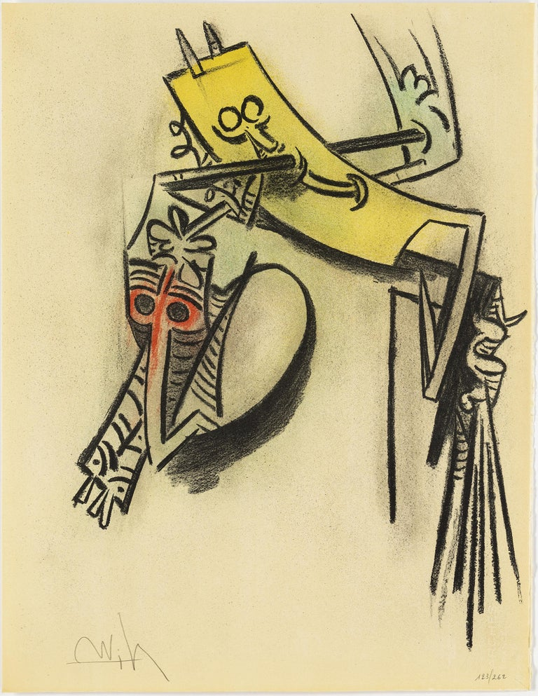 Wifredo Lam, Portfolio of 10 Signed Color Lithographs, Edition 123 of 262 For Sale 3
