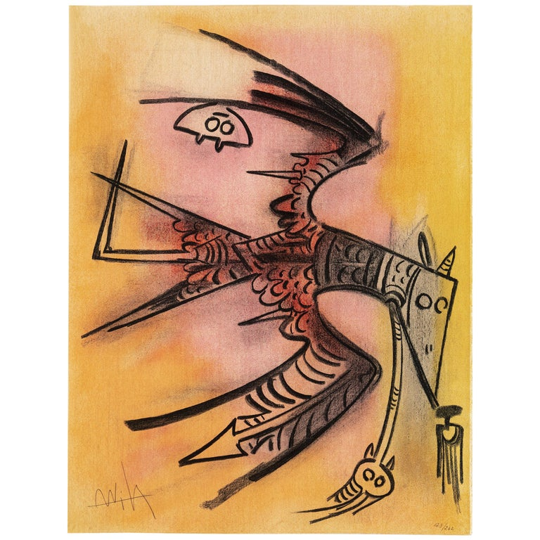 Wifredo Lam, Portfolio of 10 Signed Color Lithographs, Edition 123 of 262 For Sale