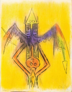 Innocence - Original Lithograph by Wifredo Lam - 1974