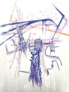 Wifredo Lam - Knight - Original Lithograph