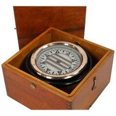 Wilcox Crittenden Ships Compass in Box