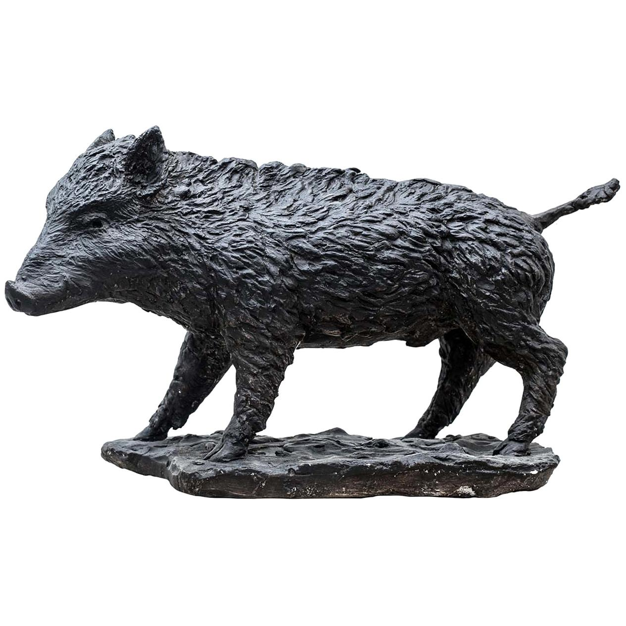 Wild Boar Sculpture