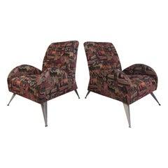 Wild Contemporary Italian Modern Lounge Chairs