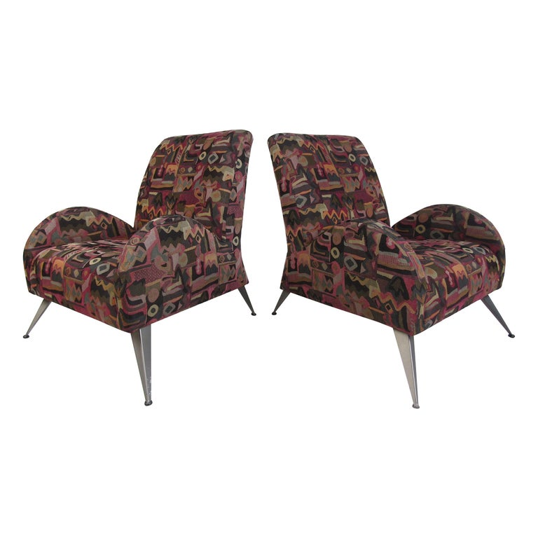 Wild Contemporary Italian Modern Lounge Chairs For Sale