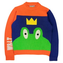 Wild & Lethal Trash AW1996 Frog Sweater