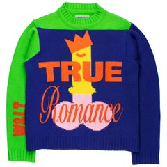 "Wild & Lethal Trash AW1996 ""True Romance"" Sweater"