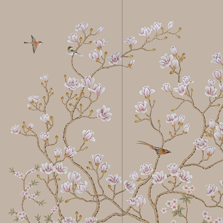Italian Wild Magnolia Bush Wallpaper For Sale