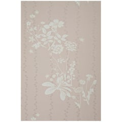 'Wild Meadow' Contemporary, Traditional Wallpaper in Plaster