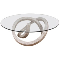 """""""Wild Ride"""" Cocktail or Coffee Table in Tessellated Cantor Stone"""