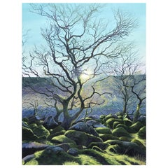 Wild Wistman's Wood Contemporary Landscape Painting