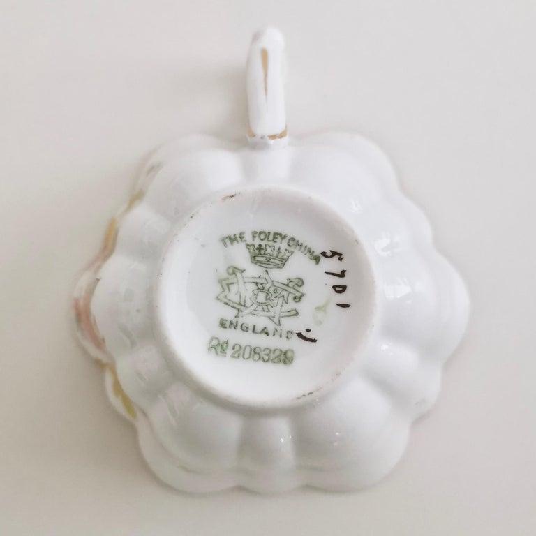 Wileman Porcelain Tea Set, Chrysanthemum, Pastel Colors, Art Nouveau, 1896 For Sale 9