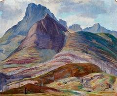 Colorado Hills Landscape 1940
