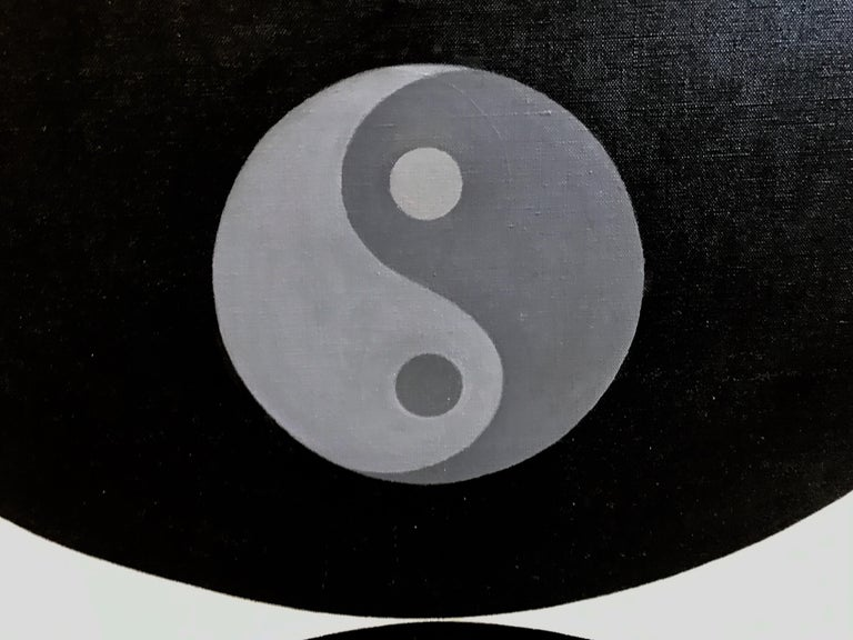 Mid-20th Century Wilfred Machin 1966 Magna Plastic Yin Yang For Sale