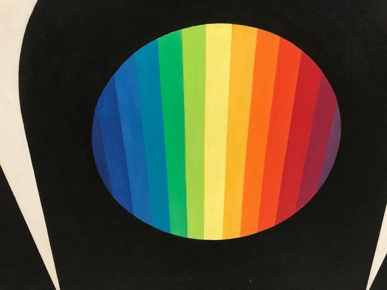Wilfred Machin 1966 Magna Plastic Yin Yang For Sale 1
