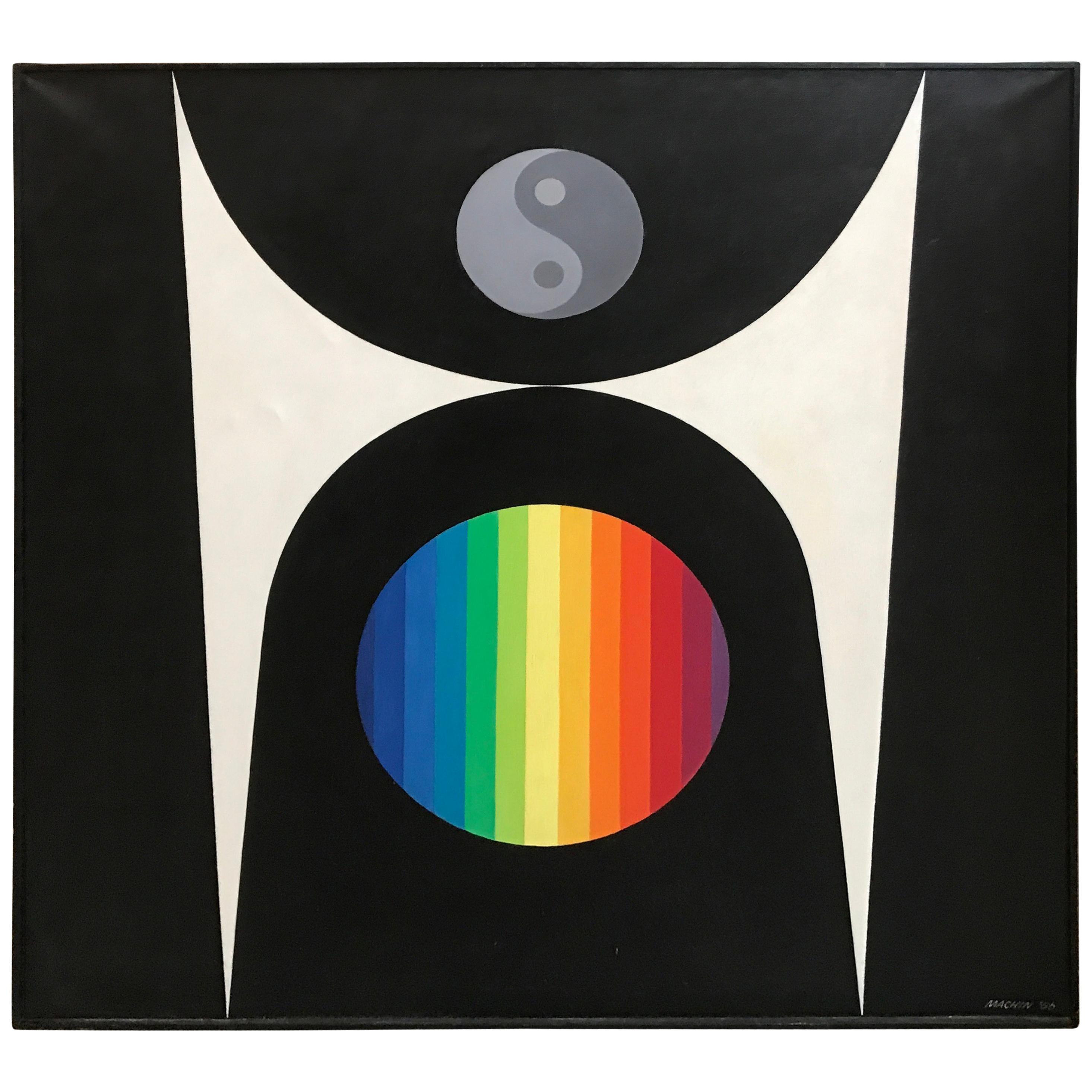 Wilfred Machin 1966 Magna Plastic Yin Yang