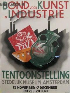 Nederlandsche/Bond voor Kunst in Industrie/Tentoonstelling/  Stedelijk Museum Am
