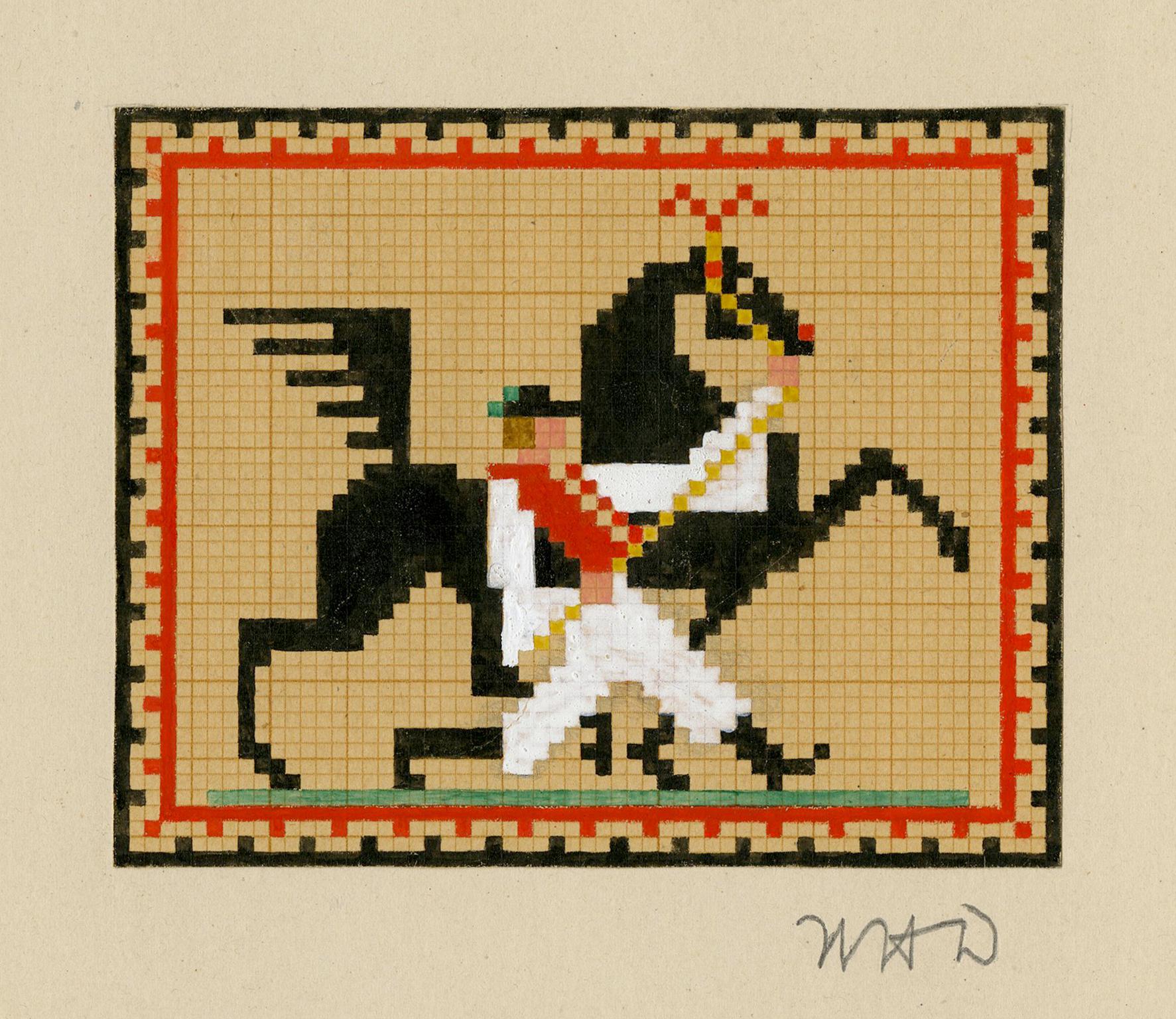 Hungarian Dancing Horse
